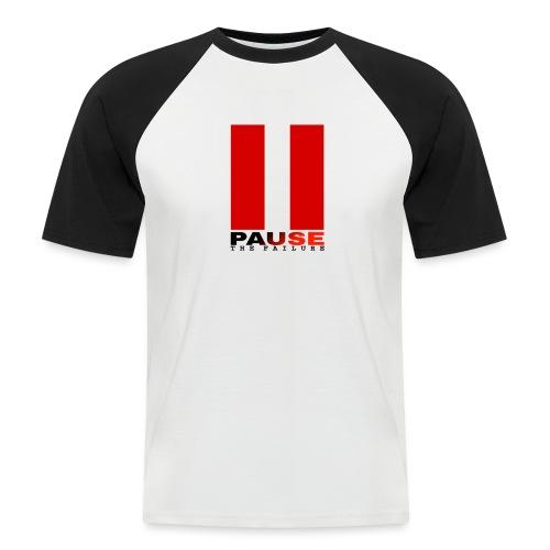 PAUSE THE FAILURE - T-shirt baseball manches courtes Homme