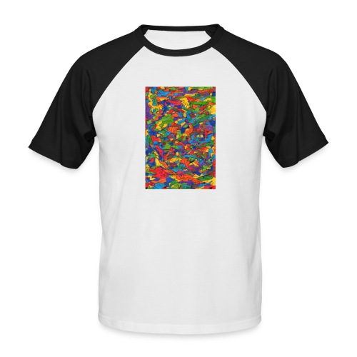 Color_Style - Camiseta béisbol manga corta hombre