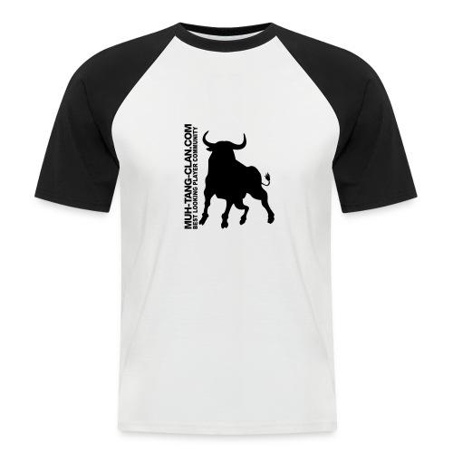 muhstierlogo - Männer Baseball-T-Shirt