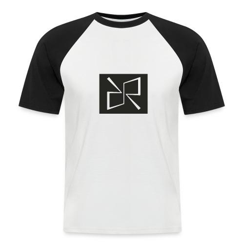 Rymdreglage logotype (RR) - Men's Baseball T-Shirt