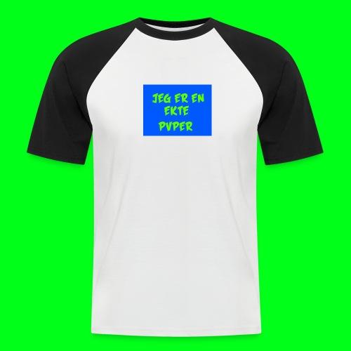 GotPvpGeneseren - Kortermet baseball skjorte for menn