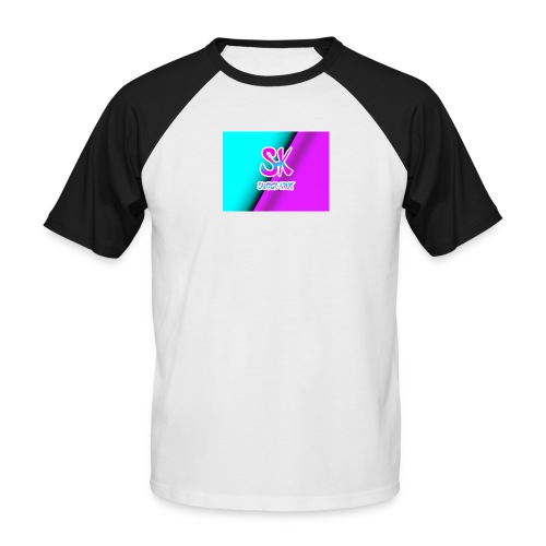 Sk Shirt - Mannen baseballshirt korte mouw