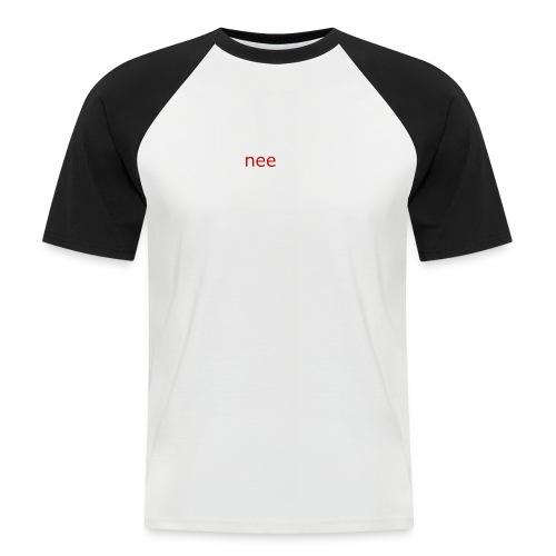 nee t-shirts - Mannen baseballshirt korte mouw