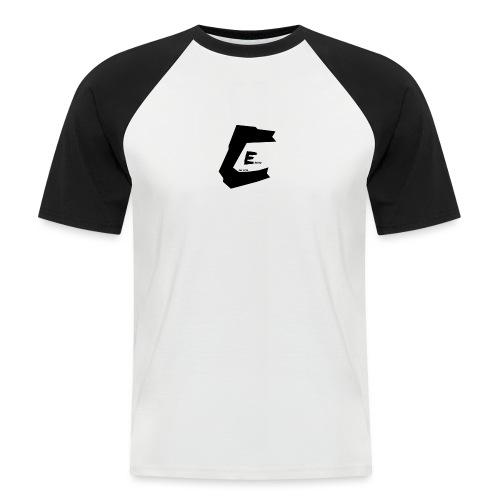 Edchi, Sort - Kortærmet herre-baseballshirt