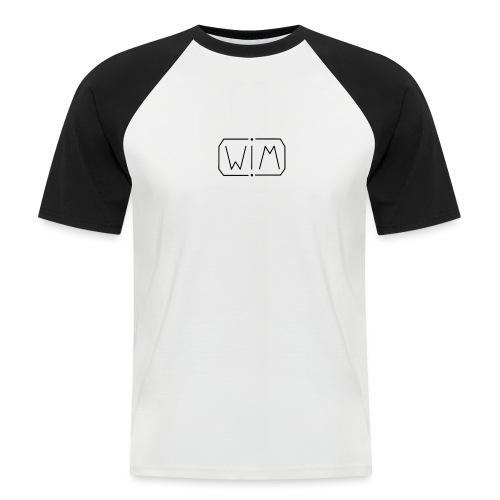 normal WIM design - Mannen baseballshirt korte mouw