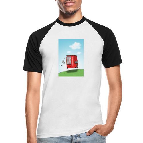 Feuerwehrwagen - Männer Baseball-T-Shirt