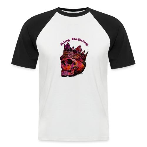 KingNothing - Kortærmet herre-baseballshirt