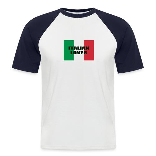 ITALIAN LOVER - Maglia da baseball a manica corta da uomo