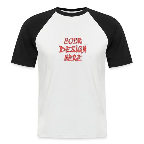TextFX - Men's Baseball T-Shirt