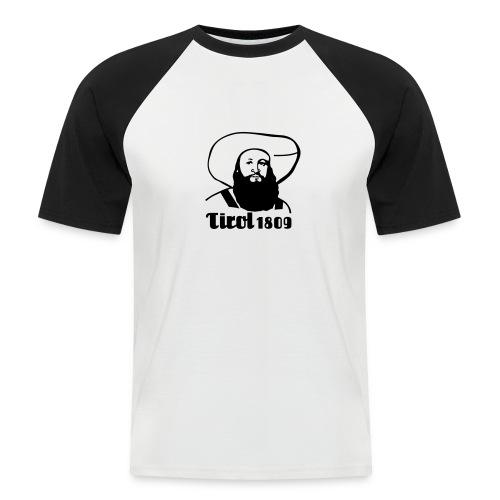 Andreas Hofer Silber1 - Männer Baseball-T-Shirt