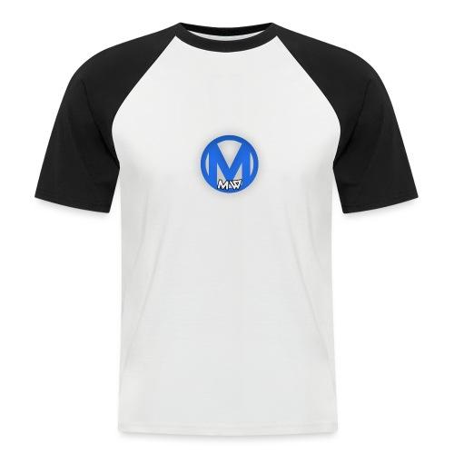 MWVIDEOS KLEDING - Mannen baseballshirt korte mouw