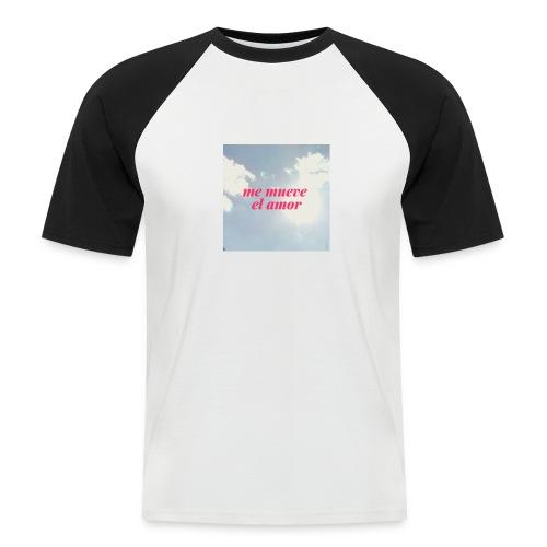 Me mueve el amor - Camiseta béisbol manga corta hombre