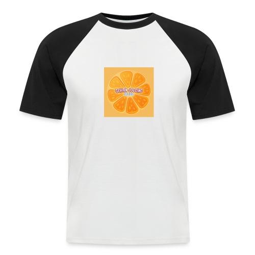 orangetextur - Männer Baseball-T-Shirt