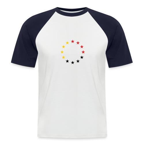 United Europe Tres - Männer Baseball-T-Shirt