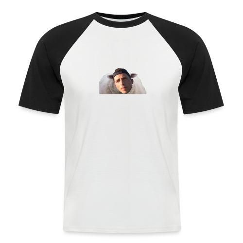 TVS het Armo Schaap en SHIT - Mannen baseballshirt korte mouw