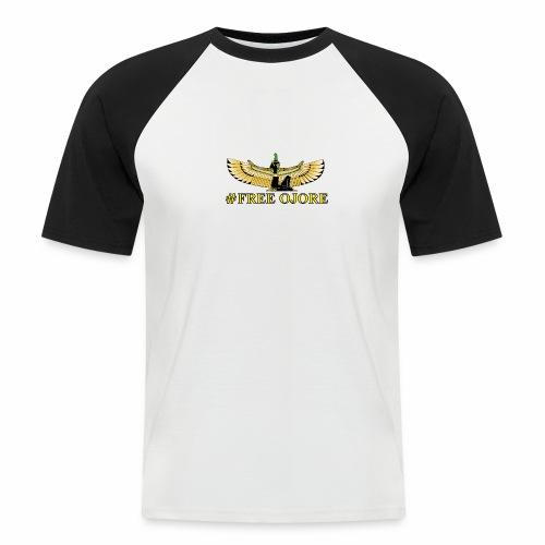 Maa-t yellow - Men's Baseball T-Shirt