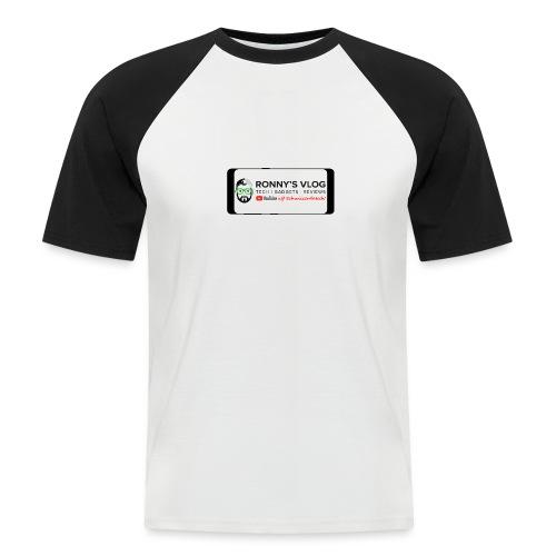 Galaxy S8 by Ronny's Vlog - Männer Baseball-T-Shirt