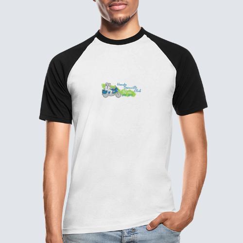 HDC jubileum logo - Mannen baseballshirt korte mouw