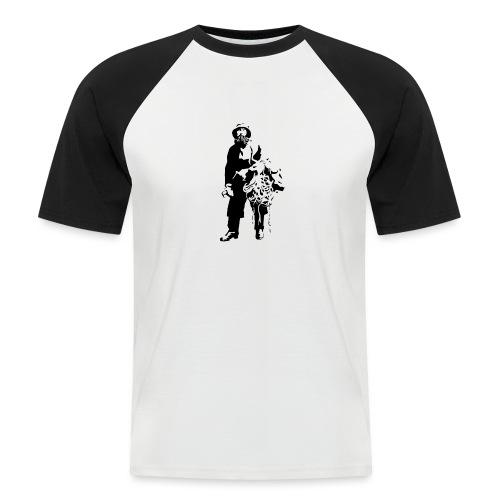 feskarn - Kortermet baseball skjorte for menn