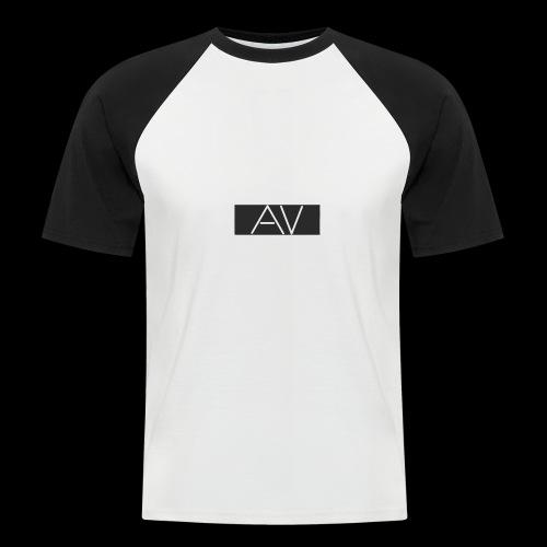 AV White - Men's Baseball T-Shirt