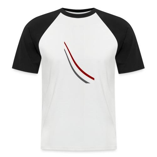 stripes shirt png - Mannen baseballshirt korte mouw