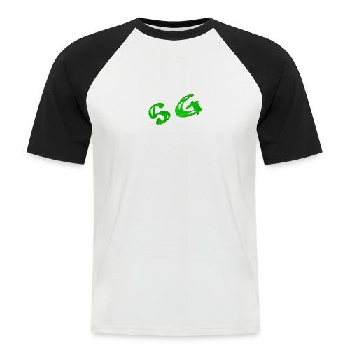 StreamGangster - Mannen baseballshirt korte mouw