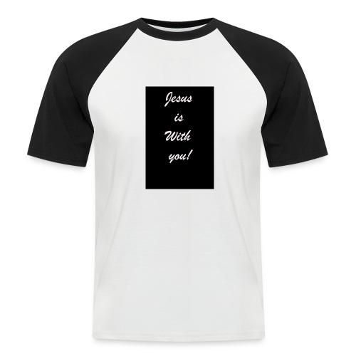 jesus - Männer Baseball-T-Shirt