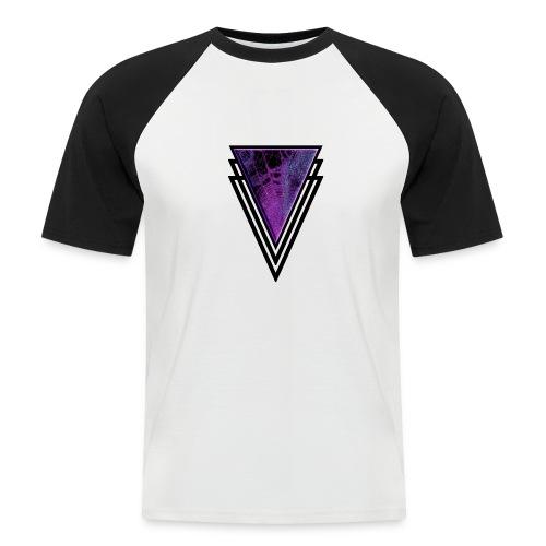 Gothic Glamour Purple Magic Halloween Goth Glam - Men's Baseball T-Shirt