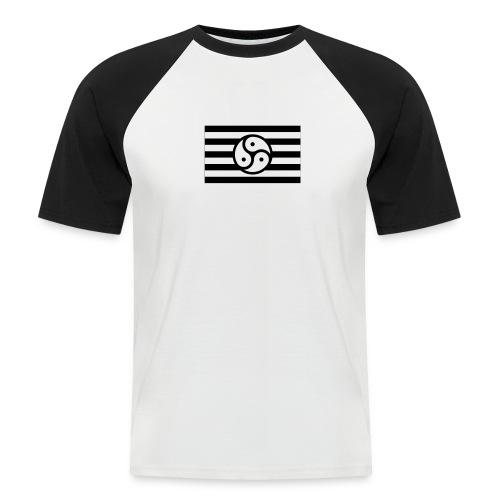 Frauen/Herrinnen T-Shirt BDSM Flagge SW - Männer Baseball-T-Shirt