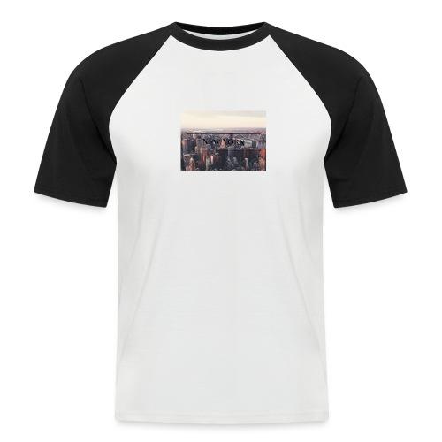 spreadshirt - T-shirt baseball manches courtes Homme
