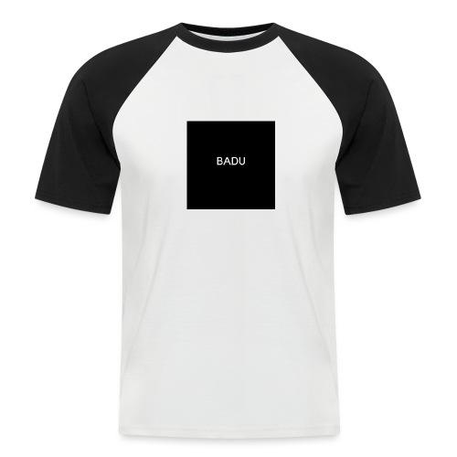 BADU - Maglia da baseball a manica corta da uomo
