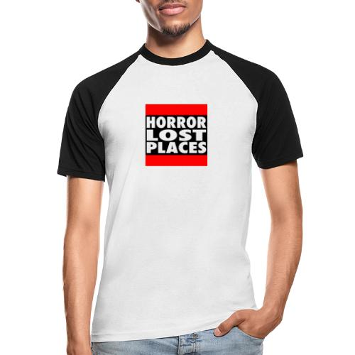 Horror Lost Places - Männer Baseball-T-Shirt
