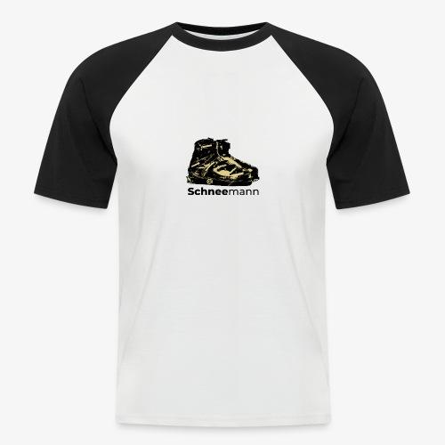 Schneemann - Männer Baseball-T-Shirt