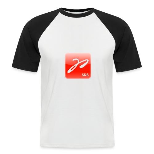 logo farbig - Männer Baseball-T-Shirt