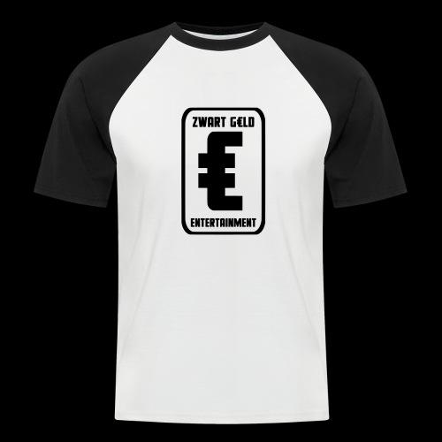 ZwartGeld Logo Sweater - Mannen baseballshirt korte mouw