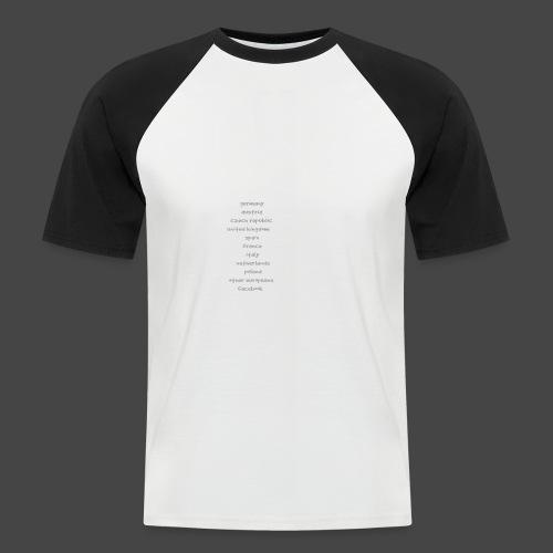tekno23 - T-shirt baseball manches courtes Homme
