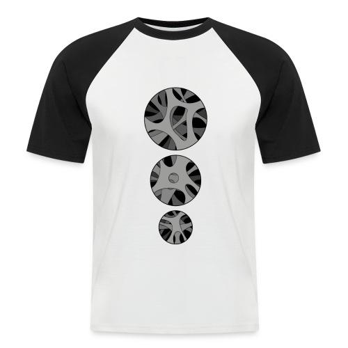 RoundHollow - Kortærmet herre-baseballshirt
