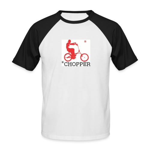Aste Chopper - T-shirt baseball manches courtes Homme