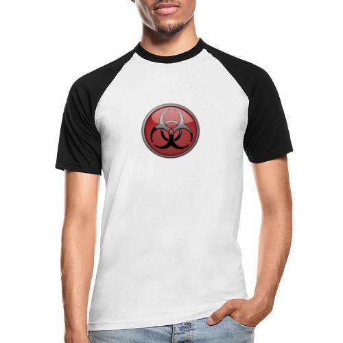 DANGER BIOHAZARD - Männer Baseball-T-Shirt
