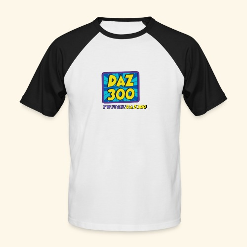 daz logo 2 0 - Men's Baseball T-Shirt