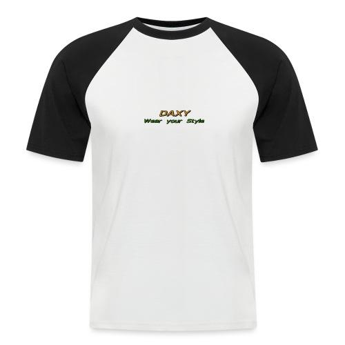 Herren Sixpack Shirt von DAXY - Männer Baseball-T-Shirt