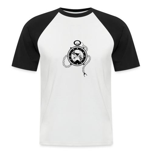 Le Temps - T-shirt baseball manches courtes Homme