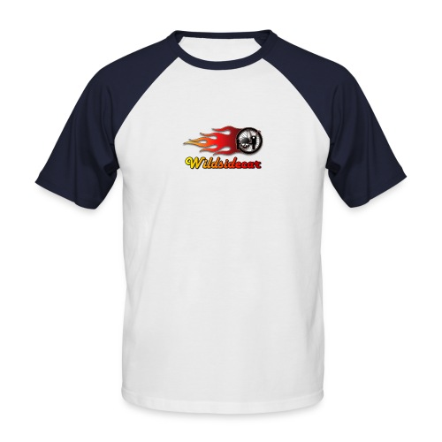 logo wildsidecar sans fond - T-shirt baseball manches courtes Homme