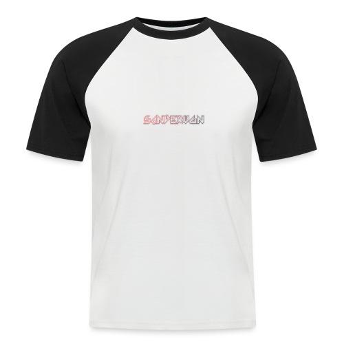 logoshirts - Mannen baseballshirt korte mouw