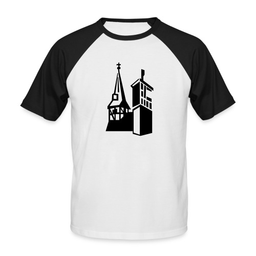 Kirchengemeinde Kirchdorf - Männer Baseball-T-Shirt