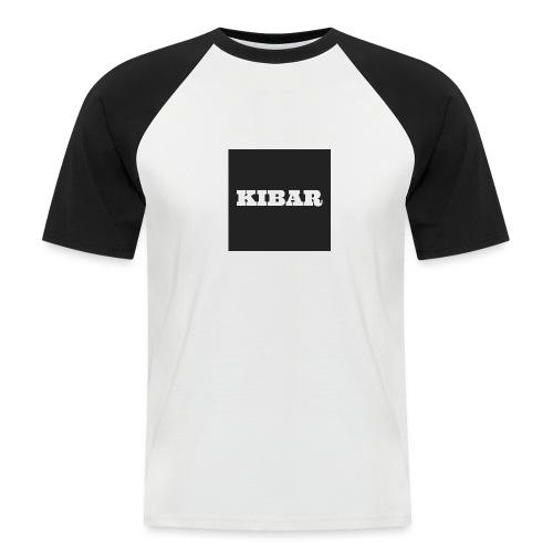 KIBAR - Kortærmet herre-baseballshirt