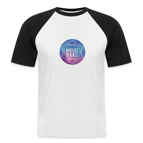 MindLift BAAS - Mannen baseballshirt korte mouw