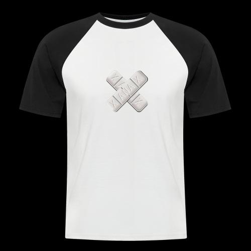 Xanax X Logo - Männer Baseball-T-Shirt