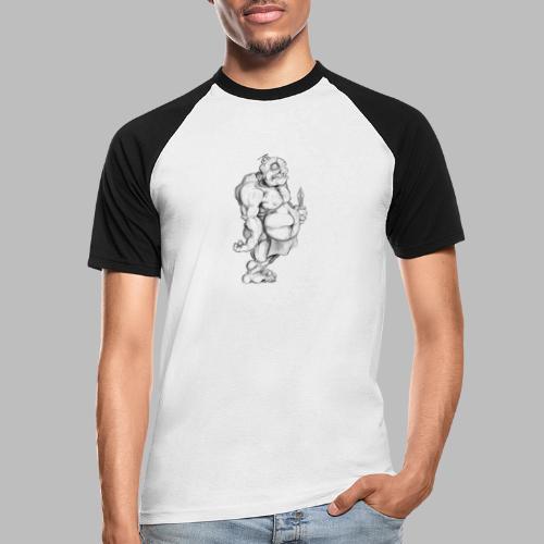 Big man - Männer Baseball-T-Shirt
