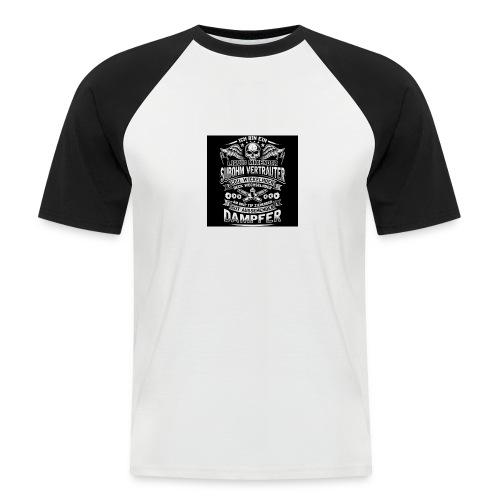 Ich bin ein Dampfer - Männer Baseball-T-Shirt